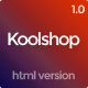 KoolShop - Multi-Purpose Ecommerce HTML Template - ThemeForest Item for Sale