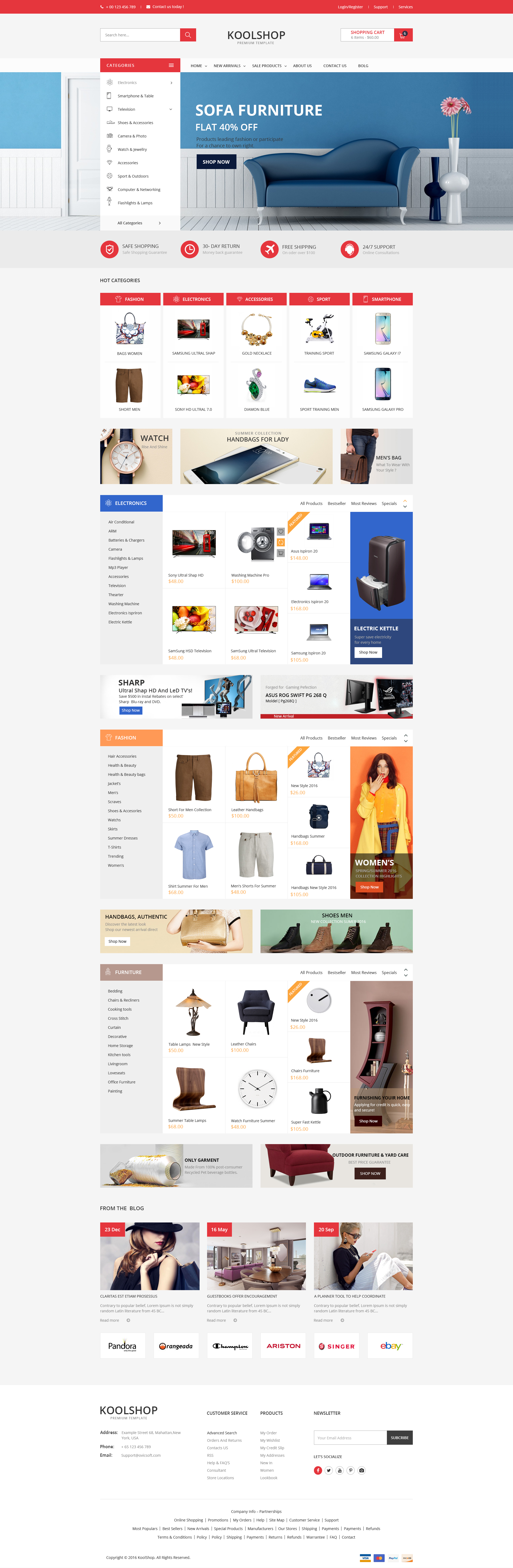 KoolShop - Multi-Purpose Ecommerce HTML Template by kutethemes ...