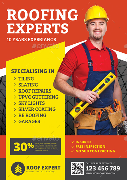 Good Roofing Flyer   Corporate Flyers. Preview Image Set/1 Preview Image  Set/1a Preview Image Set/2 Preview Image Set/2a ...