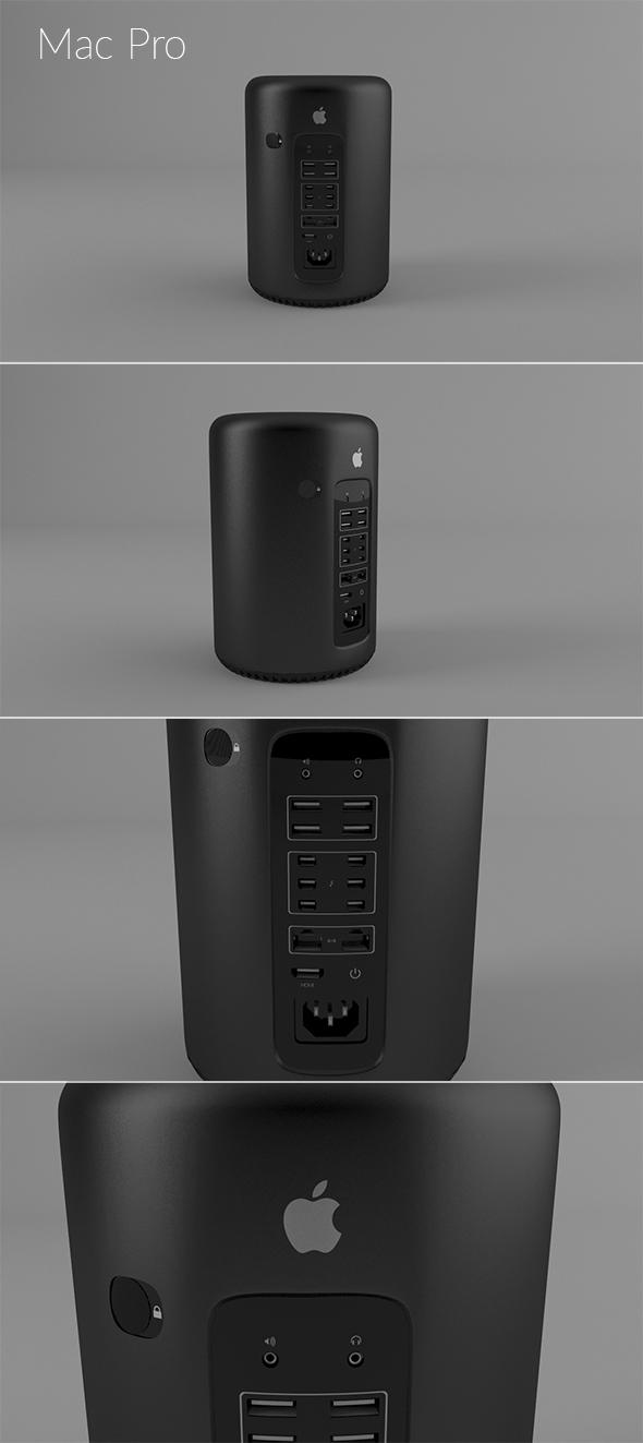 Mac Pro - 3DOcean Item for Sale