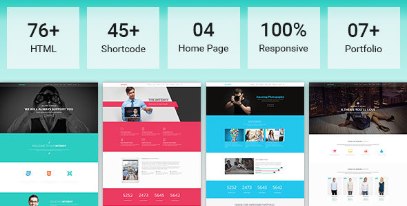 Intensy - Multipurpose HTML5 Template - Business Corporate