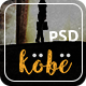 Kobe - One Page PSD Template - ThemeForest Item for Sale