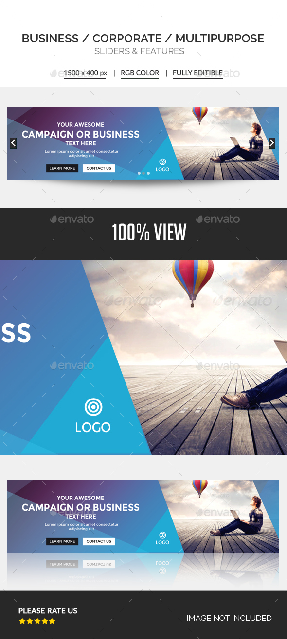 Business Slider - Sliders & Features Web Elements