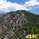 Green Mountain And Clouds - VideoHive Item for Sale