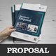Business Proposal InDesign Template v4 - GraphicRiver Item for Sale