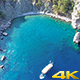 Flying Over Blue Cove And Boats, Mediterranean - VideoHive Item for Sale