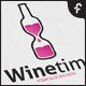 Wine Time Logo - GraphicRiver Item for Sale