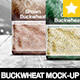 Buckwheat Package Mock-Up / 4 PSD - GraphicRiver Item for Sale