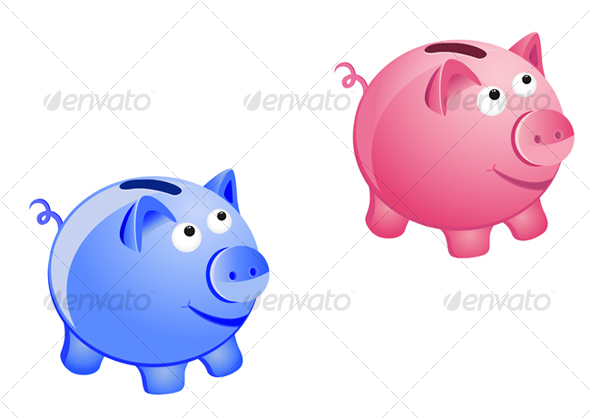 Piggy bank - Concepts Business