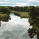 Flying Quadcopter Over The River. Beautiful Summer Landscape - VideoHive Item for Sale