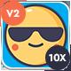 Animated Emojis V2 - VideoHive Item for Sale
