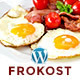 Frokost - One Page Restaurant Cafe WordPress Theme - ThemeForest Item for Sale
