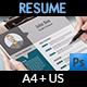 Resume Vol.1 - GraphicRiver Item for Sale