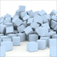 3D scattered cubes - GraphicRiver Item for Sale