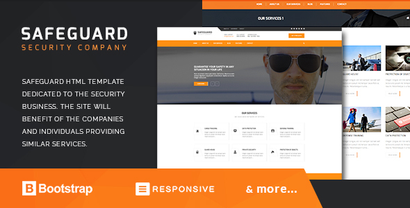 Safeguard - Security Services HTML Template