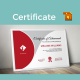 Curve Modern Certificate Templates - GraphicRiver Item for Sale