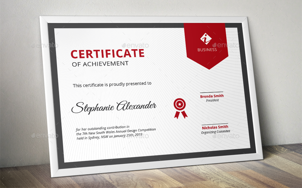 banner corporate certificate templates by almirah