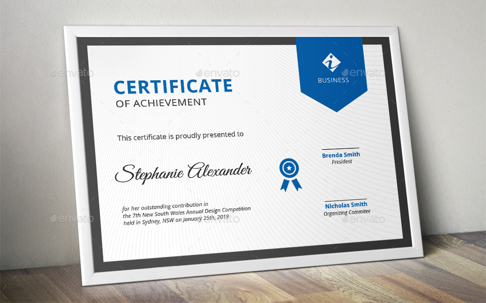 Banner Corporate Certificate Templates By Almirah Graphicriver