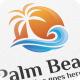 Palm Beach - Logo Template - GraphicRiver Item for Sale