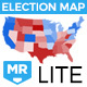 Election Map LITE - VideoHive Item for Sale