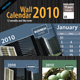 Wall Calendar 2010 [ 12 page ]  - GraphicRiver Item for Sale