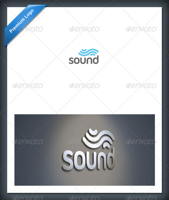 Sound and Audio Logo Template - Abstract Logo Templates