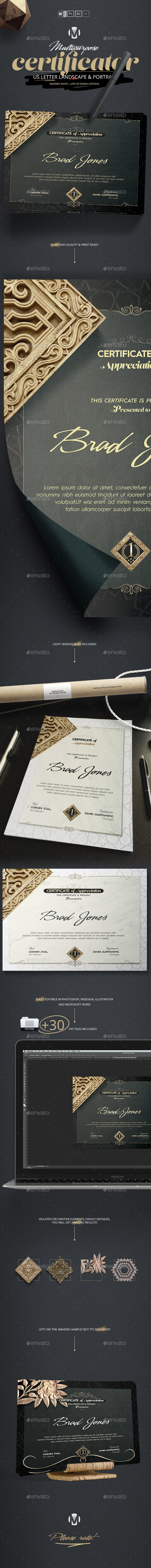 Certificator - Certificates Stationery
