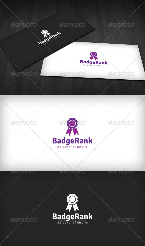 Badge Rank Logo - Objects Logo Templates