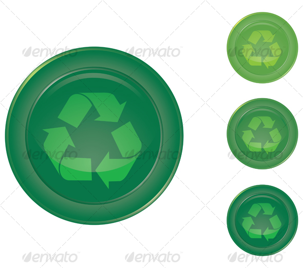 Recycle button - Decorative Symbols Decorative