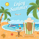 Vacation and Summer Concept - GraphicRiver Item for Sale