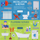 Plumbing Service Banners - GraphicRiver Item for Sale