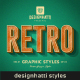 Retro Vintage Text Styles - GraphicRiver Item for Sale