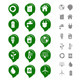Ecology and Environment Icon Set - GraphicRiver Item for Sale