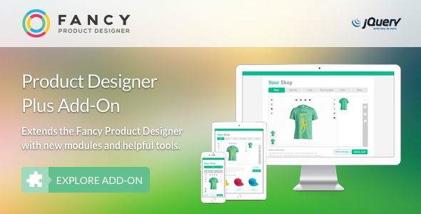 Fancy Product Designer Plus Add-On | jQuery - CodeCanyon Item for Sale