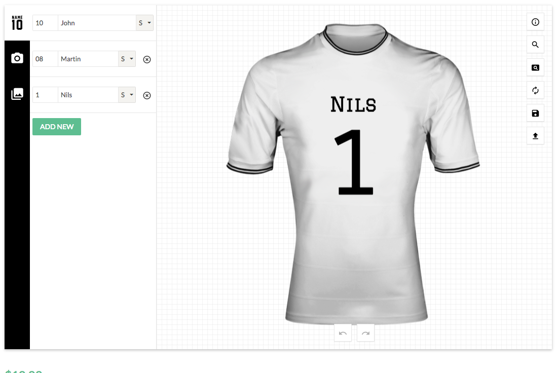 T shirt design jquery - Screenshots 01_name_number Png