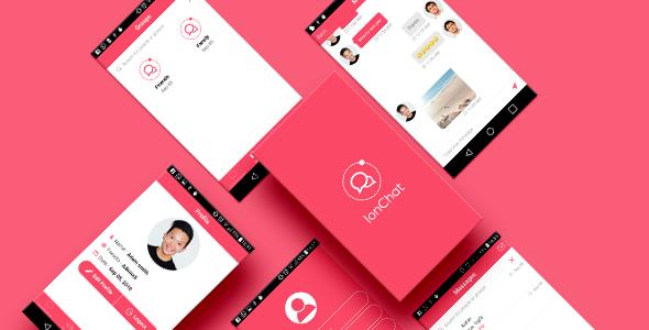 IonChat Firebase v3 Messenger - CodeCanyon Item for Sale