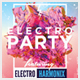 Electro Party Club Flyer - GraphicRiver Item for Sale