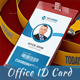 Content Marketing Office ID Card - GraphicRiver Item for Sale