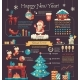 Happy New Year - Poster, Brochure Cover Template - GraphicRiver Item for Sale