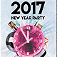 New Year Event Party Flyer/Poster - GraphicRiver Item for Sale