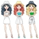 Fashion Girls in Hat - GraphicRiver Item for Sale