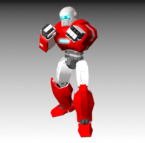 Mech style robot - 3DOcean Item for Sale