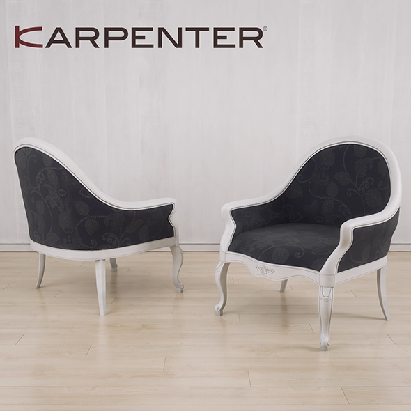 ArmChair Karpenter 230 - 3DOcean Item for Sale