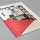 Simple Interior Design Magazine - GraphicRiver Item for Sale