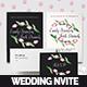 Tulip Wedding Invitation Suite - GraphicRiver Item for Sale