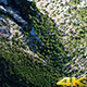 Flying over Green Trees and Mountain - VideoHive Item for Sale