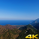 Green Mountains And Blue Sea - VideoHive Item for Sale