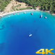 Cove, Blue Sea And Boats - VideoHive Item for Sale