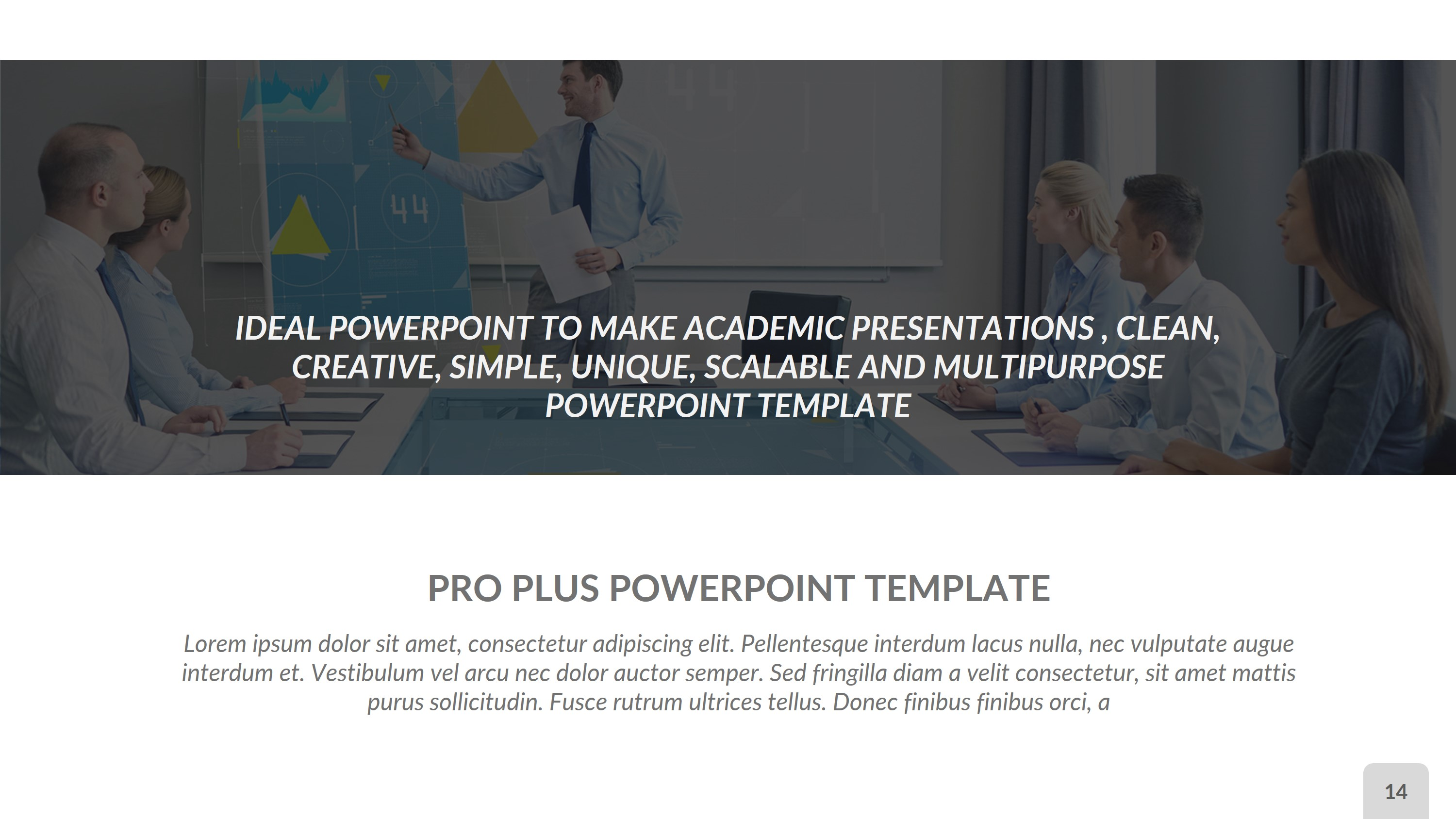 Pro Plus Business PowerPoint Presentation Template by rengstudio ...