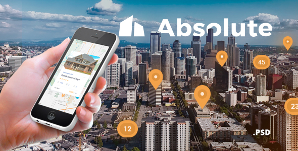 Absolute - Real Estate PSD Template - Business Corporate